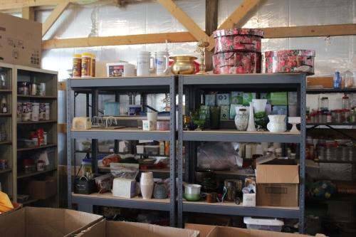 Shelf in Reuse Center